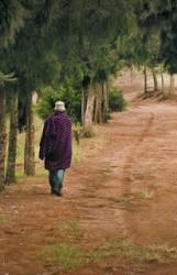 043. Walking Massai